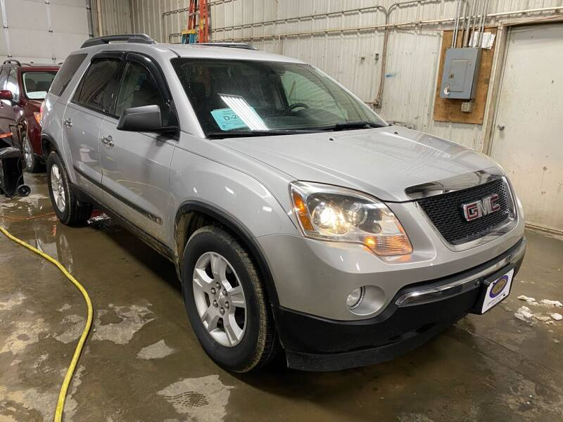2009 GMC Acadia for sale at BERG AUTO MALL & TRUCKING INC in Beresford SD