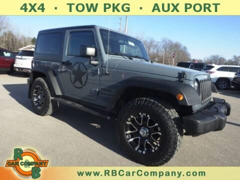 2015 Jeep Wrangler for sale at R & B Car Company in South Bend IN