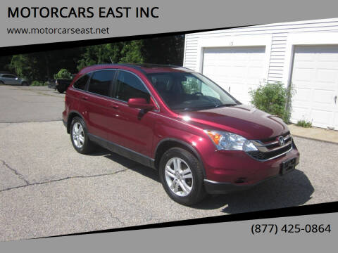 2011 Honda CR-V for sale at MOTORCARS EAST INC in Derry NH