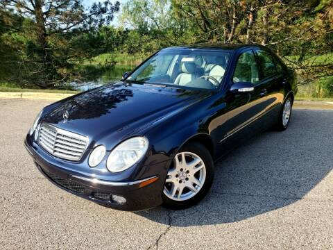 2005 Mercedes-Benz E-Class for sale at Excalibur Auto Sales in Palatine IL