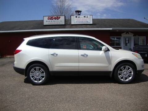 2011 Chevrolet Traverse for sale at G and G AUTO SALES in Merrill WI