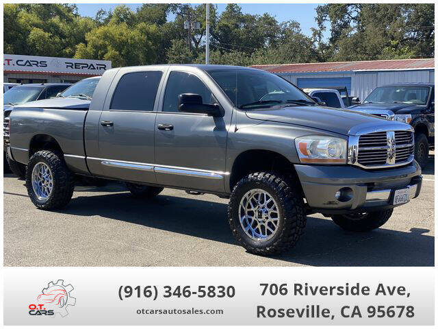 2006 Dodge Ram Pickup 1500 for sale at OT CARS AUTO SALES in Roseville CA