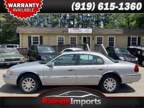 2000 Lincoln Continental for sale at Raleigh Imports in Raleigh NC
