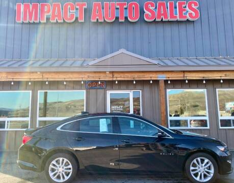 2018 Chevrolet Malibu for sale at Impact Auto Sales in Wenatchee WA