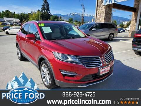 2015 Lincoln MKC for sale at Price Ford Lincoln in Port Angeles WA