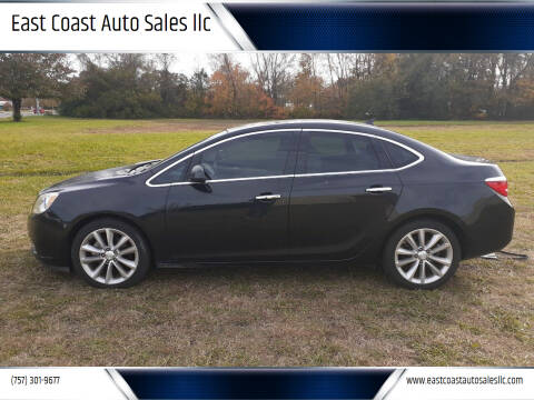 2014 Buick Verano for sale at East Coast Auto Sales llc in Virginia Beach VA