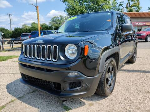 2017 Jeep Renegade for sale at Lamarina Auto Sales in Dearborn Heights MI