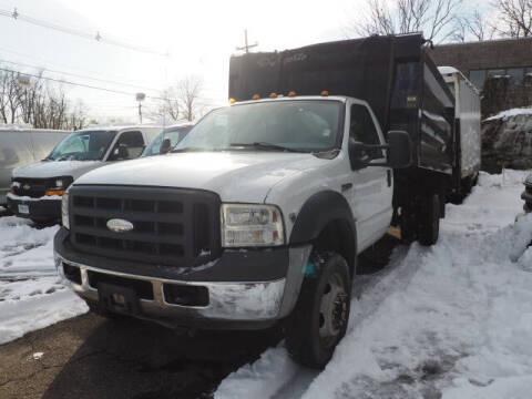 2007 Ford F-550 Super Duty for sale at Scheuer Motor Sales INC in Elmwood Park NJ