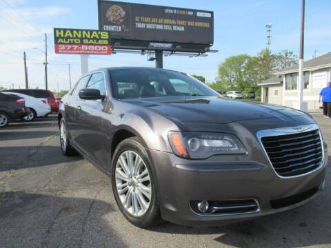 2014 Chrysler 300 for sale at Hanna's Auto Sales in Indianapolis IN