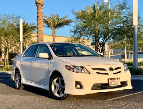 2011 Toyota Corolla for sale at Car Hero LLC in Santa Clara CA