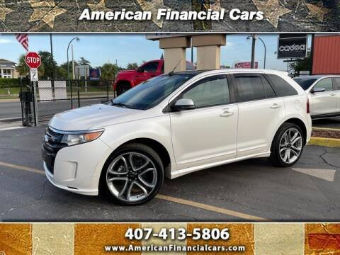 2014 Ford Edge for sale at American Financial Cars in Orlando FL