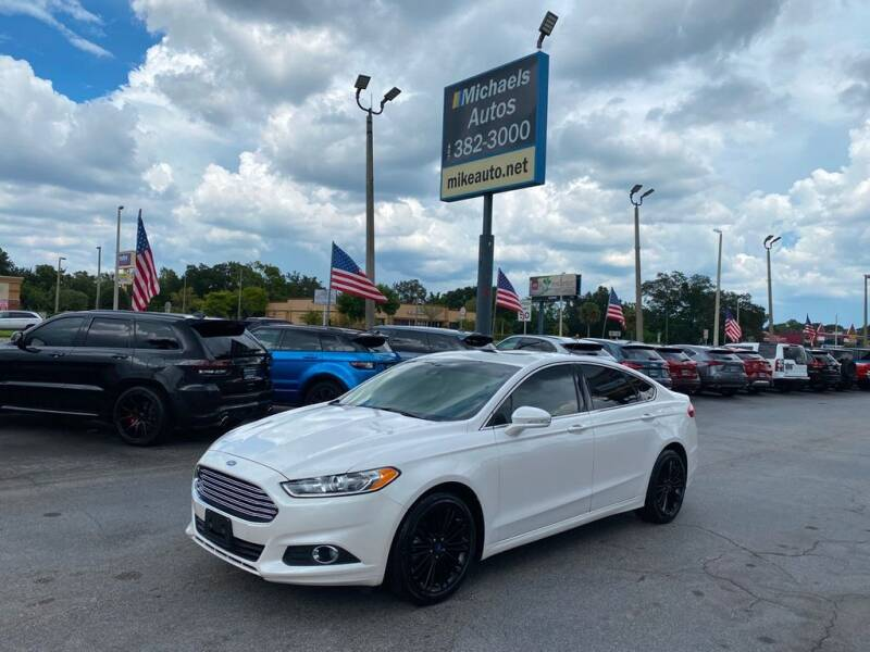 2014 Ford Fusion for sale at Michaels Autos in Orlando FL