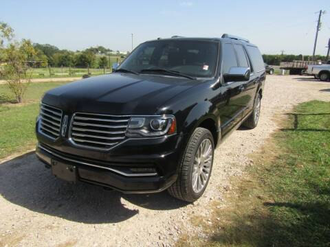 2017 Lincoln Navigator L for sale at Hill Top Sales in Brenham TX