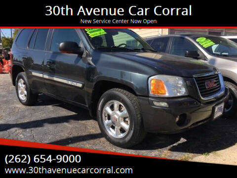 2004 GMC Envoy for sale at 30th Avenue Car Corral in Kenosha WI