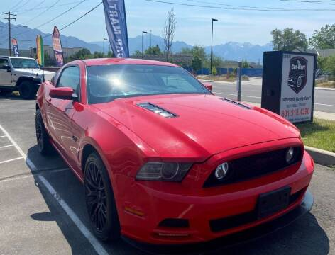 2013 Ford Mustang for sale at The Car-Mart in Murray UT