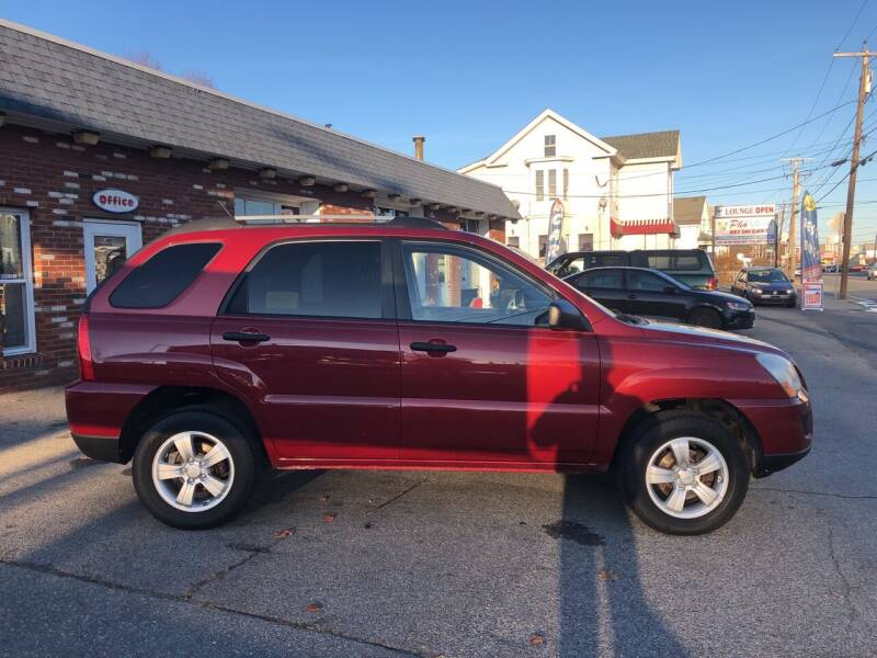 2009 Kia Sportage for sale at RAYS AUTOMOTIVE SERVICE CENTER INC in Lowell MA