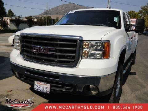 2009 GMC Sierra 2500HD for sale at McCarthy Wholesale in San Luis Obispo CA
