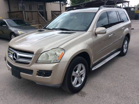 2007 Mercedes-Benz GL-Class for sale at OASIS PARK & SELL in Spring TX