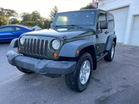 2009 Jeep Wrangler for sale at SOUTH SHORE AUTO GALLERY, INC. in Abington MA