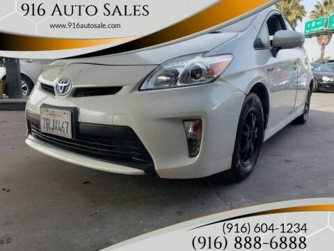 2015 Toyota Prius for sale at 916 Auto Sales in Sacramento CA
