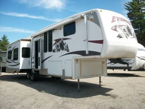2008 Keystone Everest 345S for sale at Olde Bay RV in Rochester NH