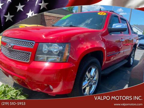 2012 Chevrolet Avalanche for sale at Valpo Motors Inc. in Valparaiso IN