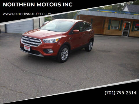 2019 Ford Escape for sale at NORTHERN MOTORS INC in Grand Forks ND