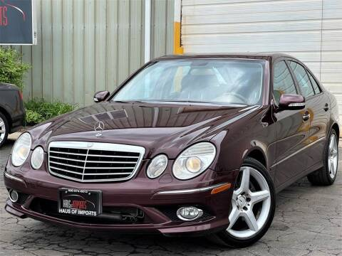 2009 Mercedes-Benz E-Class for sale at Haus of Imports in Lemont IL