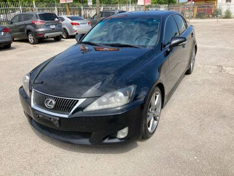 2009 Lexus IS 250 for sale at Saipan Auto Sales in Houston TX
