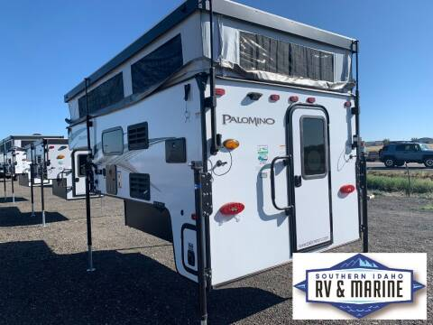 2022 FOREST RIVER PALOMINO SS-1500 for sale at SOUTHERN IDAHO RV AND MARINE - Truck Campers - New and Used in Jerome ID