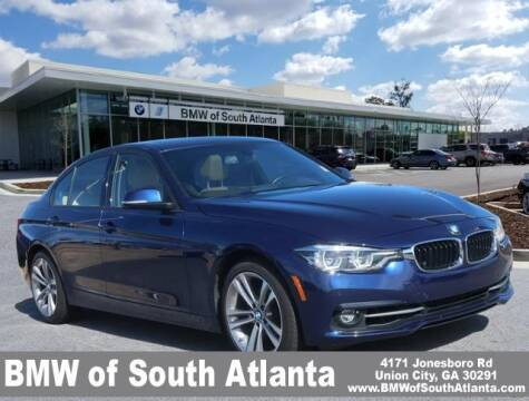 2016 BMW 3 Series for sale at Carol Benner @ BMW of South Atlanta in Union City GA