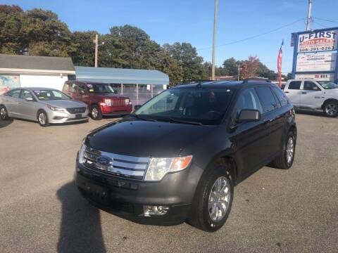 2007 Ford Edge for sale at U FIRST AUTO SALES LLC in East Wareham MA