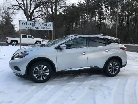 2018 Nissan Murano for sale at McLaughlin Motorz in North Muskegon MI