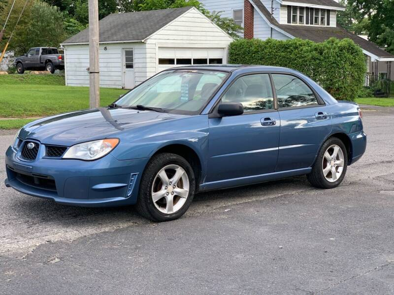 2007 Subaru Impreza for sale at Pak Auto Corp in Schenectady NY