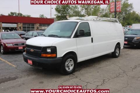 2012 Chevrolet Express Cargo for sale at Your Choice Autos - Waukegan in Waukegan IL