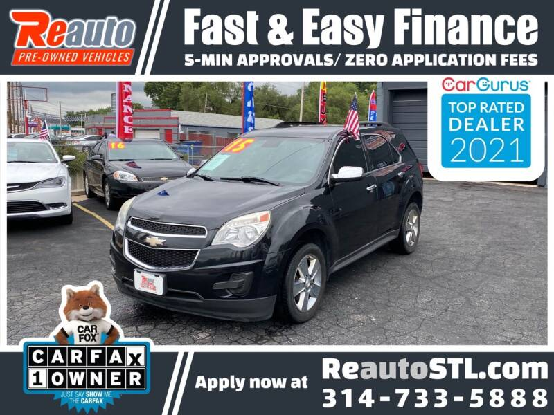 2015 Chevrolet Equinox for sale at Reauto in Saint Louis MO