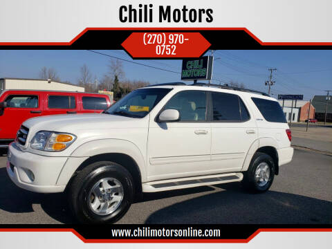 2002 Toyota Sequoia for sale at CHILI MOTORS in Mayfield KY