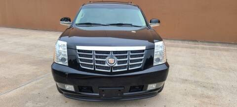 2011 Cadillac Escalade ESV for sale at ALL STAR MOTORS INC in Houston TX