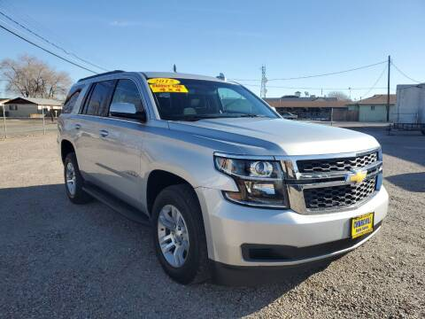 2015 Chevrolet Tahoe for sale at CHURCHILL AUTO SALES in Fallon NV