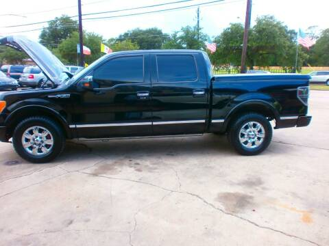 2009 Ford F-150 for sale at Under Priced Auto Sales in Houston TX