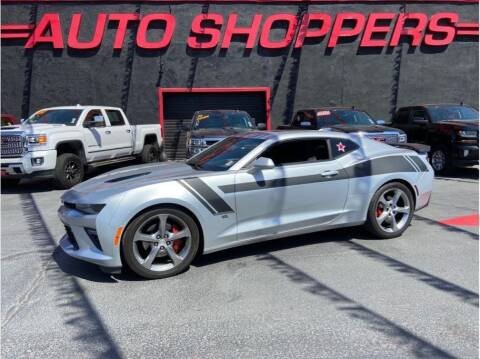 2017 Chevrolet Camaro for sale at AUTO SHOPPERS LLC in Yakima WA