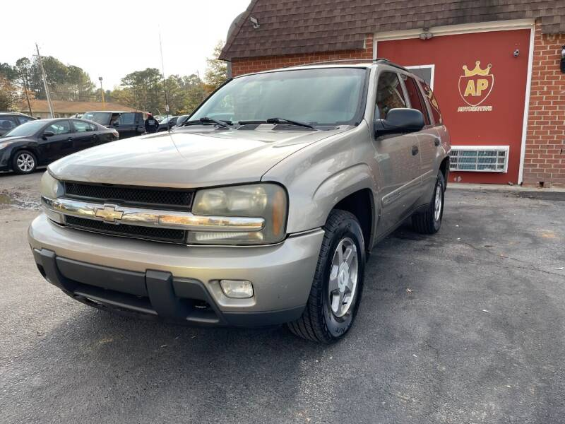 2003 Chevrolet TrailBlazer for sale at AP Automotive in Cary NC