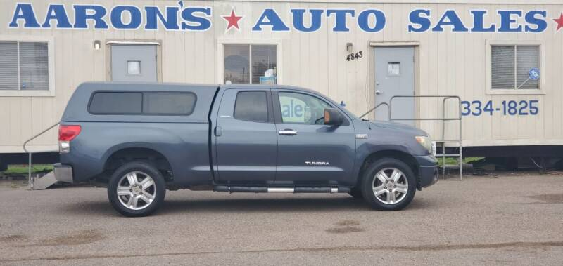 2007 Toyota Tundra for sale at Aaron's Auto Sales in Corpus Christi TX
