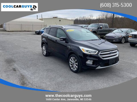 2017 Ford Escape for sale at Cool Car Guys in Janesville WI