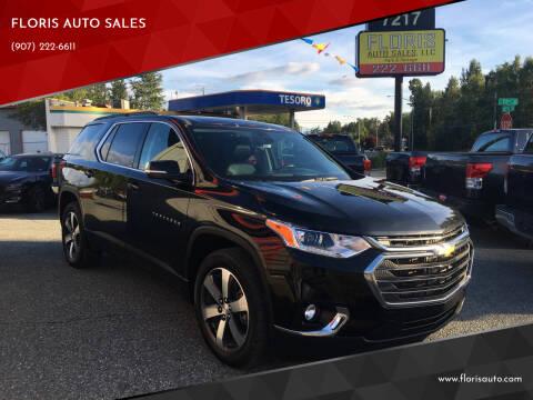 2019 Chevrolet Traverse for sale at FLORIS AUTO SALES in Anchorage AK