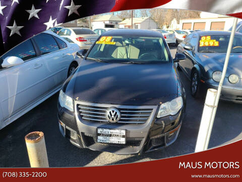 2008 Volkswagen Passat for sale at MAUS MOTORS in Hazel Crest IL