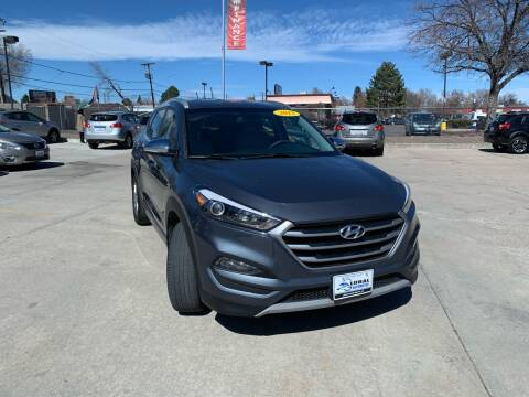 2017 Hyundai Tucson for sale at Global Automotive Imports in Denver CO