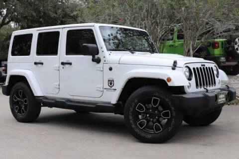 2018 Jeep Wrangler JK Unlimited for sale at SELECT JEEPS INC in League City TX