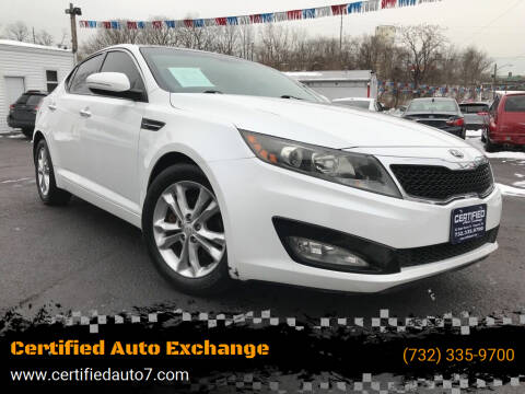 2013 Kia Optima for sale at Certified Auto Exchange in Keyport NJ