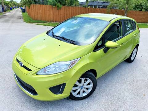 2012 Ford Fiesta for sale at LESS PRICE AUTO BROKER in Hollywood FL
